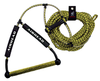 Wakeboard Rope Deluxe Yellow
